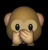 ios_emoji_emoticone_parler_-_pas_-_mal_singe