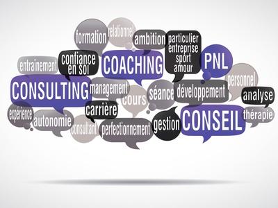 nuage de mots bulles : coaching